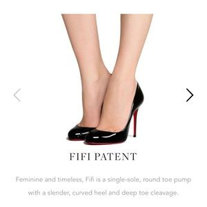 New Christian Louboutin Fifi Pumps heels shoes